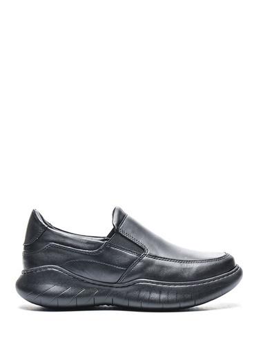 Bulldozer 210097 Erkek Deri Comfort  Ayakkabı Siyah